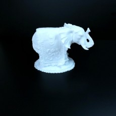 Picture of print of Elephant Sculpture 3D Scan
