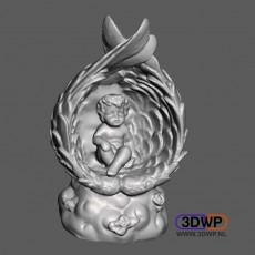 Angel Sculpture 3D Scan
