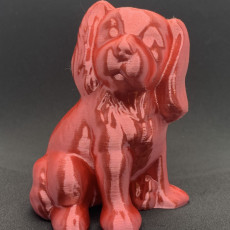 Picture of print of Dog Sculpture 3D Scan