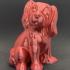 Dog Sculpture 3D Scan print image