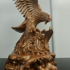 Picture of print of Eagle Sculpture This print has been uploaded by Walter S Whitson