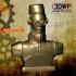 Ottoman Steampunk Robot Bust image