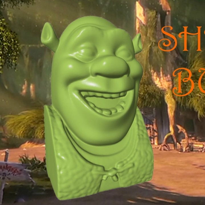 Shrek Bust