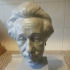Albert Einstein Bust 3D Scan image