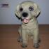 Labrador Puppy (Dog Statue 3D Scan) image