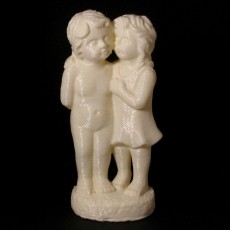 Picture of print of Boy And Girl Statue 3D Scan