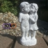 Boy And Girl Statue 3D Scan image