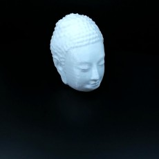 Picture of print of Buddha Head (Hollow)