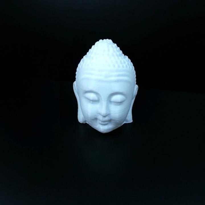 Buddha Head 3D Scan (Made Hollow)