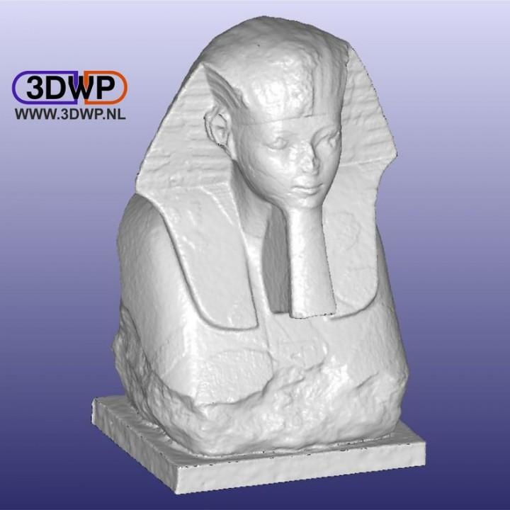 Sphinx Of Hatshepsut 3D Scan