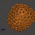 Apple Voronoi Style image