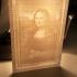 Mona Lisa Lithophane image