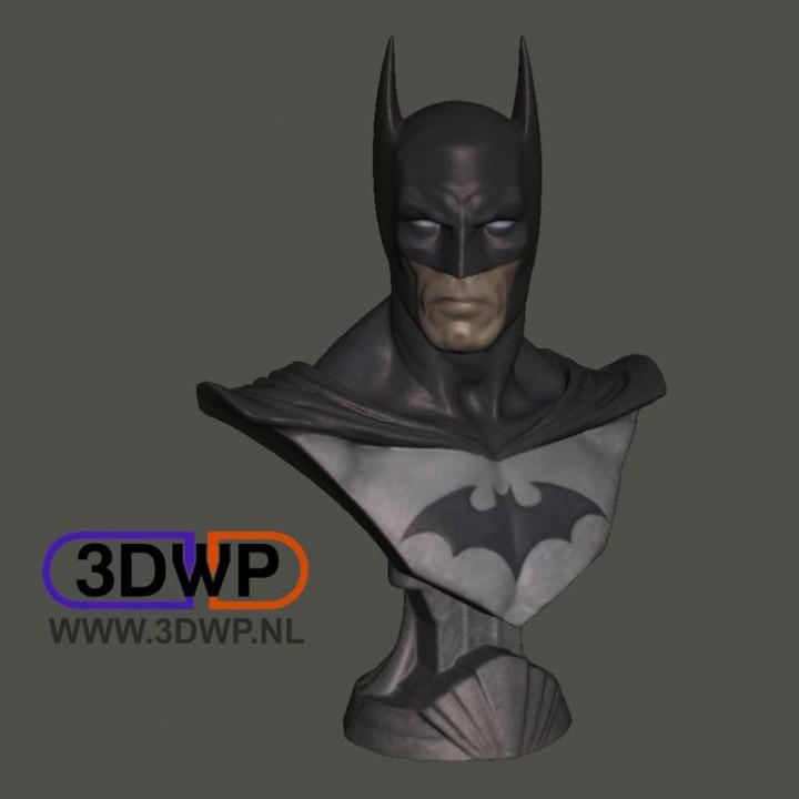 Batman Bust (Statue 3D Scan)