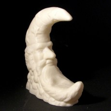 Picture of print of Moon Figurine (Statue 3D Scan)