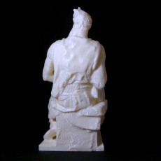 Picture of print of Moses By Michelangelo Sculpture (Statue 3D Scan)