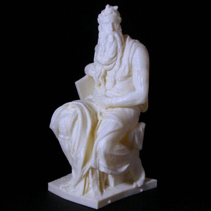 Moses By Michelangelo Sculpture (Statue 3D Scan)