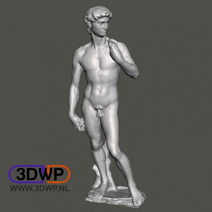 David By Michelangelo Sculpture (Statue 3D Scan)