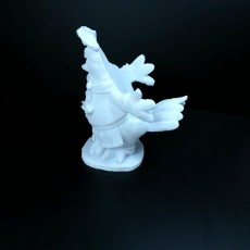 Picture of print of Chicken Figurine (Statue 3D Scan)