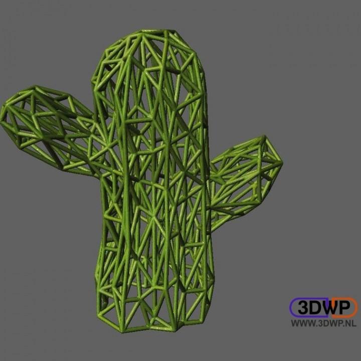 Cactus Pattern (Voronoi Style)
