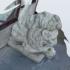 Lion Statue 3D Scan image