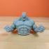 Hulk Sculpture (Statue 3D Scan) print image