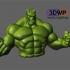 Hulk Sculpture (Statue 3D Scan) image