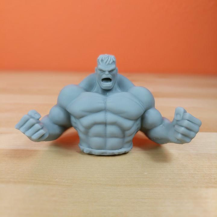 Hulk Sculpture (Statue 3D Scan)