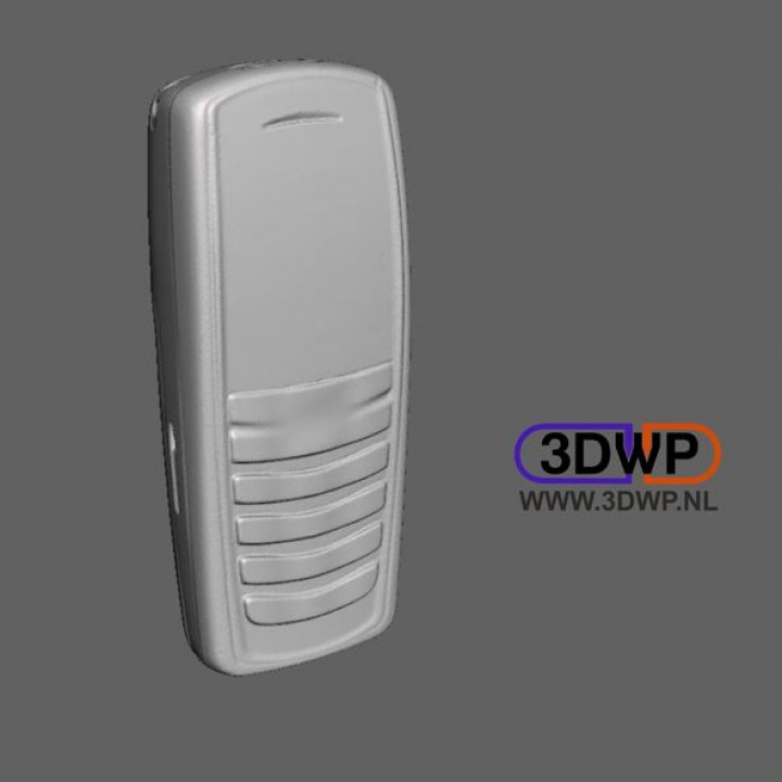 Nokia Mobile Phone 3D Scan