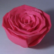 Picture of print of Jillian's Rose Fixed (Made Solid With MeshMixer)