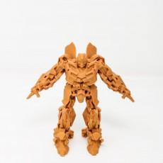 Picture of print of Transformers Bumblebee (Solid Model)