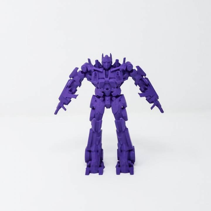 Transformers Optimus Prime (Solid Model)