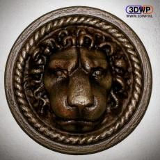 Door Lion Wall Hanger