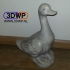 Duck Sculpture 3D Scan image