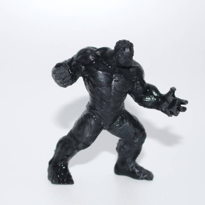 Hulk 3D Scan