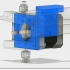 Mounting for 3 stepper motors for diamond head with ANET A8 & AM8 image