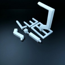 Picture of print of Spoolholder separate parts