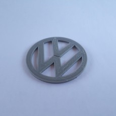 Picture of print of VW Logo