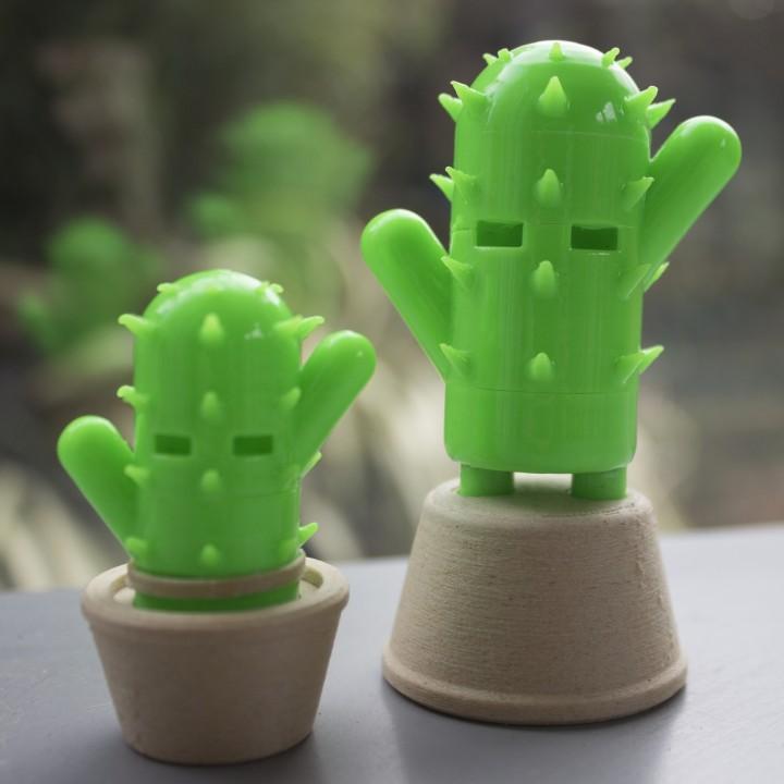 CactiBot - Cactus robot!