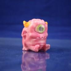 Cute Pink Monster