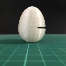 Picture of print of Kinder egg #tinkercadeaster