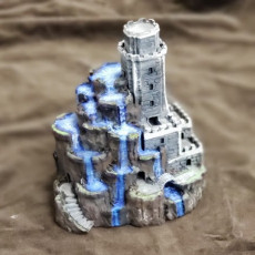 Picture of print of Tower of Cascades