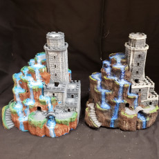 Picture of print of Tower of Cascades Esta impresión fue cargada por CHAOSMakers