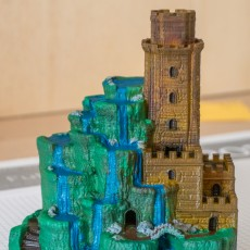 Picture of print of Tower of Cascades This print has been uploaded by Thomas