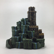 Picture of print of Tower of Cascades This print has been uploaded by Angel Spy