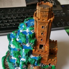 Picture of print of Tower of Cascades This print has been uploaded by Bruno