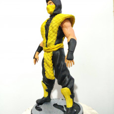 Picture of print of Mortal Kombat Classic Ninja
