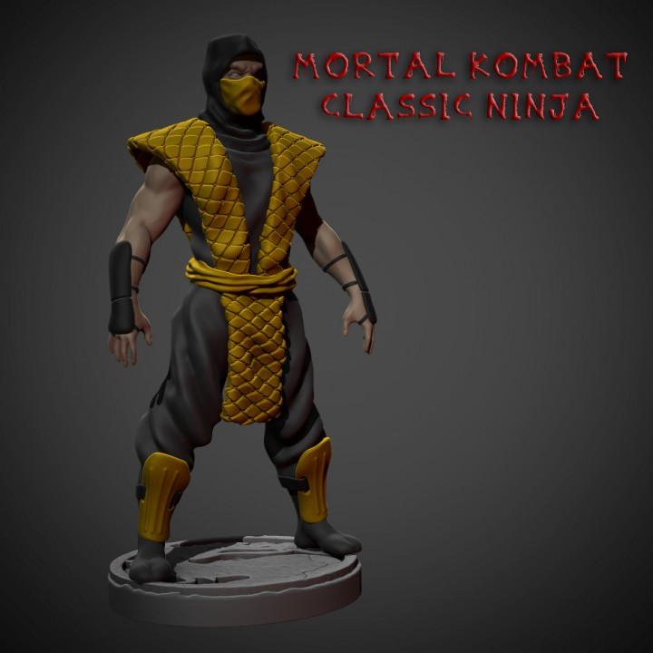 Mortal Kombat Classic Ninja