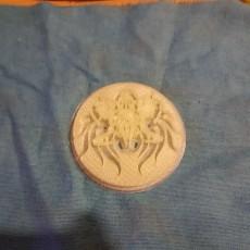 Picture of print of Samurai Crest