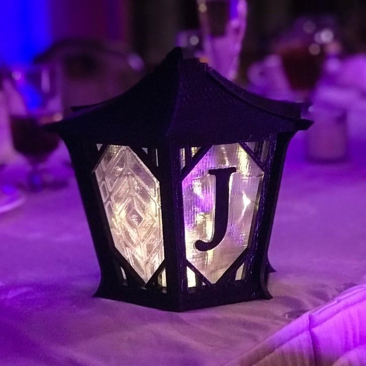 Japanese Centerpiece Lanterns for Wedding