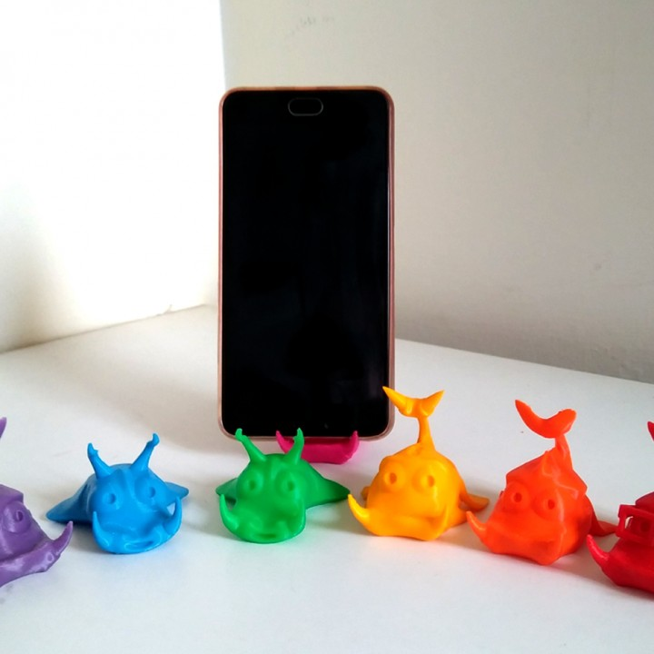 Cute Fishes - Phone Stand / Card Holder